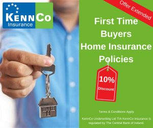 First Time Buyers 10% off Home Insurance Policies