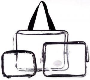 Pennys organizer see through bags