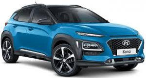 Hyundai Kona in Blue
